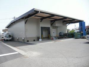 食品加工工場倉庫建築事例