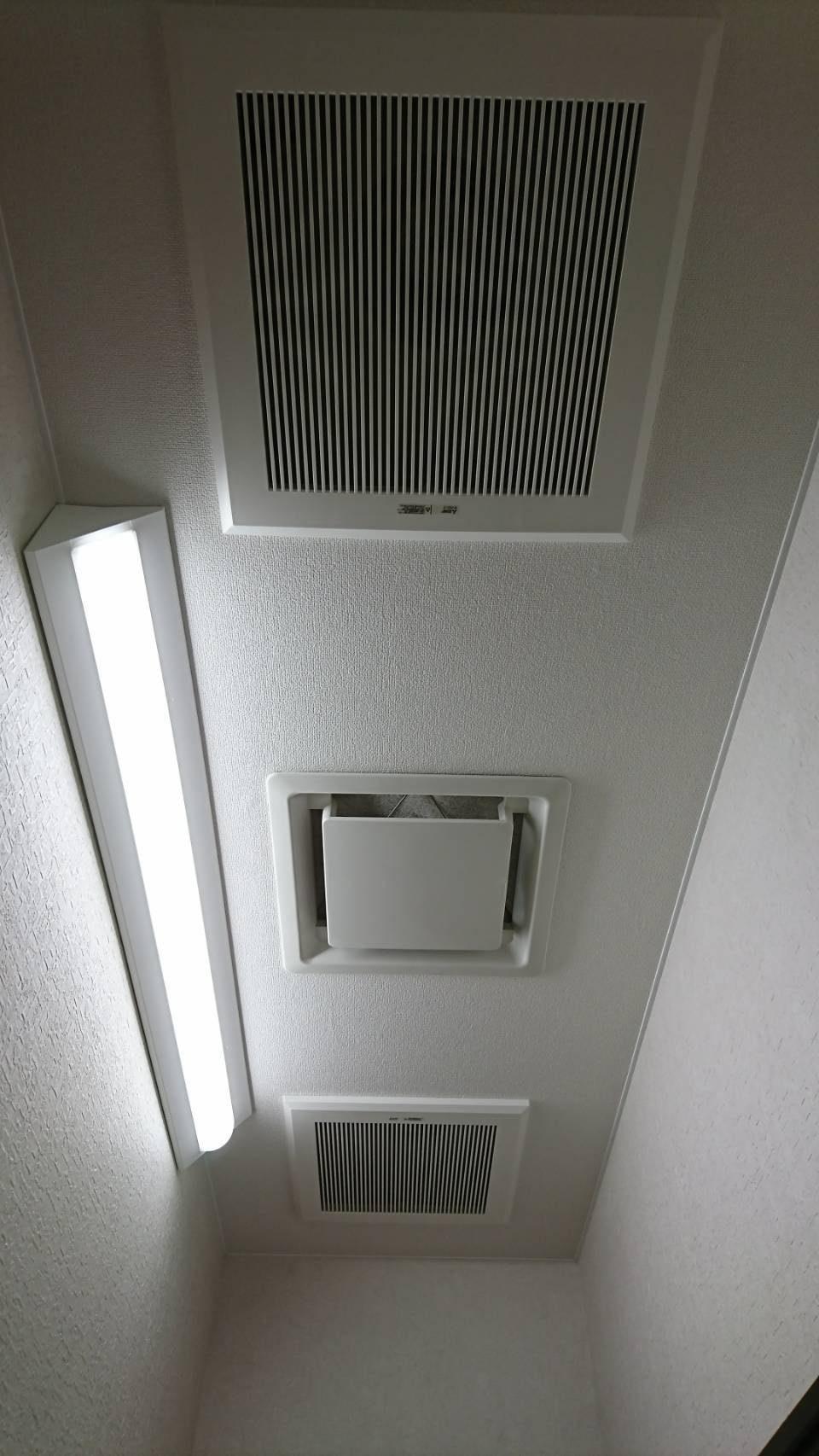 天井扇・給気グリル