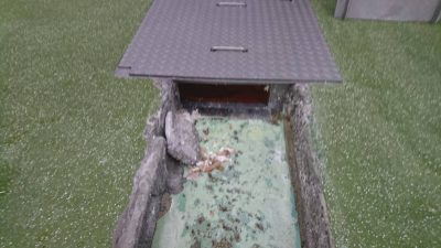排水改修前状況