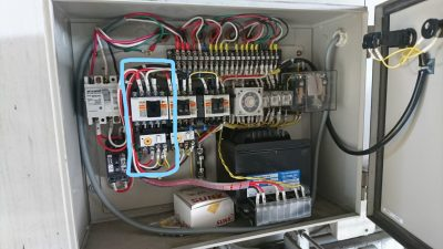 防熱扉制御盤 エアカーテンマグ用ネットスイッチ