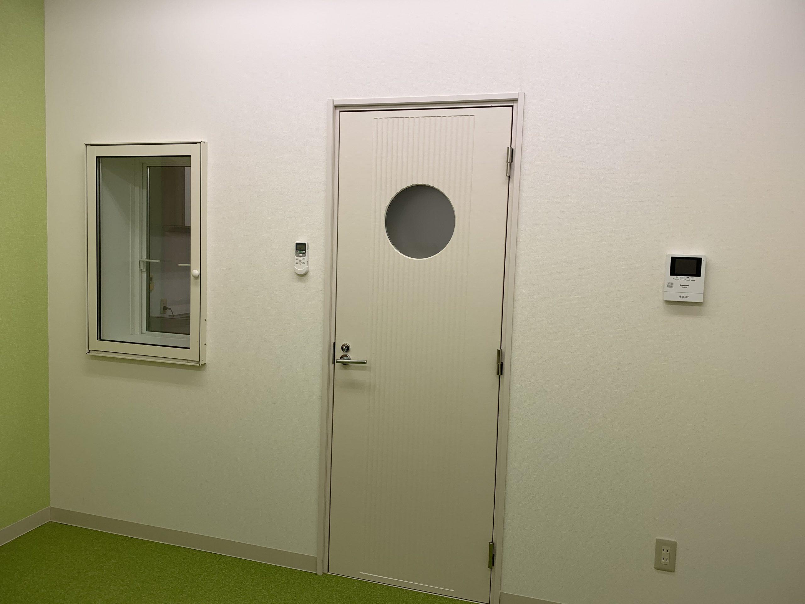 防音室内部